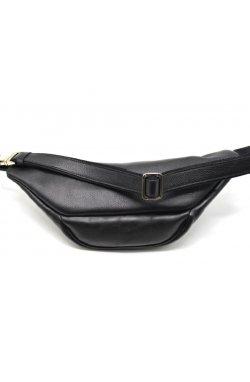 Напоясная сумка (бананка) из гладкой кожи , TARWA GA-3036-4lx