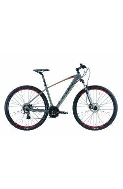 """Велосипед 29"""" Leon TN 80 HDD 2019 (серо-оранжевый (м))"""