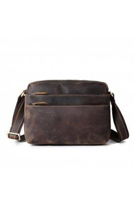 Оригинальная кожаная сумка, цвет коричневый Bexhill bx9860