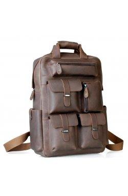 Большой прочный рюкзак из матовой кожи Tiding 3081