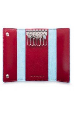 Ключница Piquadro BL SQUARE/Red PC4521B2_R