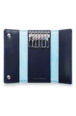 Ключница Piquadro BL SQUARE/N.Blue PC4521B2_BLU2