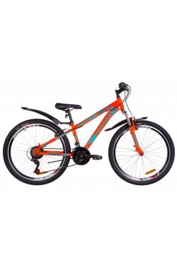 "Велосипед 26"" Discovery TREK 2019 (оранжево-бирюзовый)"