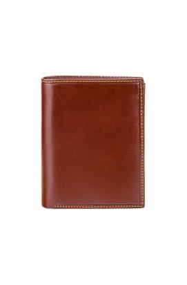 Кошелек мужской Visconti MZ3 Milan c RFID (Italian Brown) - натуральная кожа, коричневый