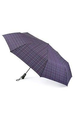 Зонт мужской Fulton Open & Close Jumbo-2 G842 Navy Plaid (Клетка)