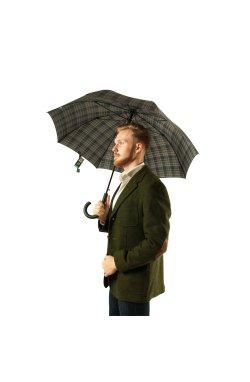 Зонт мужской Fulton Shoreditch-2 G832 Menzies (Клетка)