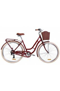 "Велосипед 28"" Dorozhnik CORAL 2019 (рубиновый)"