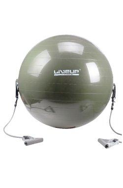Фитбол с эспандером LiveUp GYM BALL WITH EXPANDER, LS3227