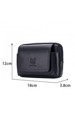 Напоясная сумка-чехол для смартфона T1347A Bull из натуральной кожи
