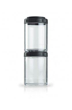 Контейнер спортивный BlenderBottle GoStak 2 Pak Black (ORIGINAL)