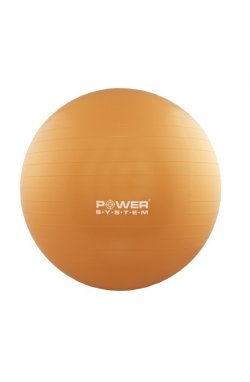 Мяч для фитнеса и гимнастики POWER SYSTEM PS-4011 55cm Orange