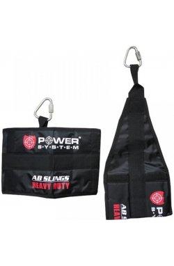 Петли подвесные (петли Береша) Power System Ab Slings PS-4038 Black