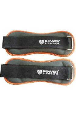 Отягощения для ног фиксированные Power System 1 kg PS-4046 (пара)