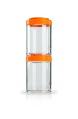 Контейнер спортивный BlenderBottle GoStak 2 Pak Orange (ORIGINAL)