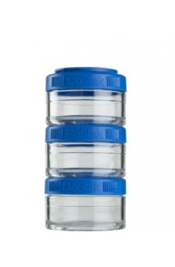 Контейнер спортивный BlenderBottle GoStak 3*60 Blue (ORIGINAL)