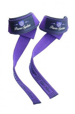 Кистевые ремни Power System G-Power Straps PS-3420 Purple