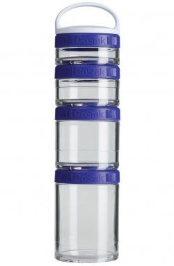 Контейнер спортивный BlenderBottle GoStak Starter 4 Pak Purple (ORIGINAL)