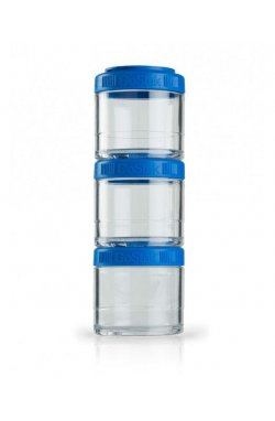Контейнер спортивный BlenderBottle GoStak 3 Pak Blue (ORIGINAL)