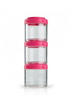 Контейнер спортивный BlenderBottle GoStak 3 Pak Pink (ORIGINAL)