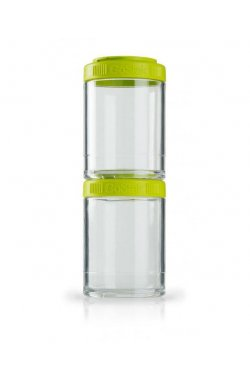 Контейнер спортивный BlenderBottle GoStak 2 Pak Green (ORIGINAL)