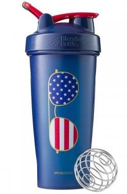 Спортивный шейкер BlenderBottle Classic Loop 820ml Special Edition Freedom Blue (ORIGINAL)