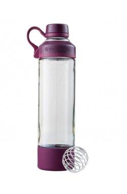 Спортивная бутылка-шейкер BlenderBottle Mantra Glass Plum (СКЛО) 600мл (ORIGINAL)