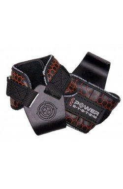 Крюки для тяги на запястья Power System Hooks V2 PS-3360 Black-Red L