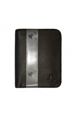 Кошелек мужской Visconti VSL34 Lank c RFID (Black/Orange)