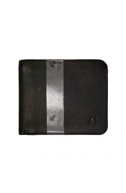 Кошелек мужской Visconti VSL35 Trim c RFID (Black/Cobalt)
