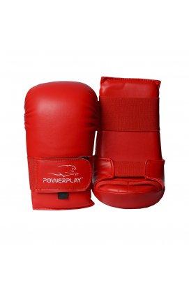 Перчатки для карате PowerPlay 3027 Красные