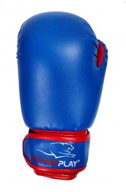 Боксерские перчатки PowerPlay 3004 JR Синьо-Червоні