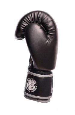 Боксерские перчатки PowerPlay 3010 Чорно-Сірі
