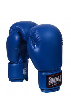Боксерские перчатки PowerPlay 3004 Синие 1