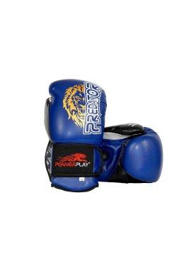 Боксерские перчатки PowerPlay 3006 Синие 1