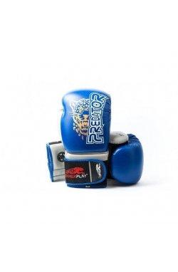 Боксерские перчатки PowerPlay 3008 Синие