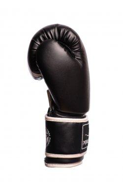 Боксерские перчатки PowerPlay 3010 Чорно-Белые