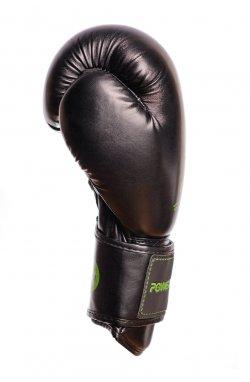 Боксерские перчатки PowerPlay 3016 Чорно-Зелені