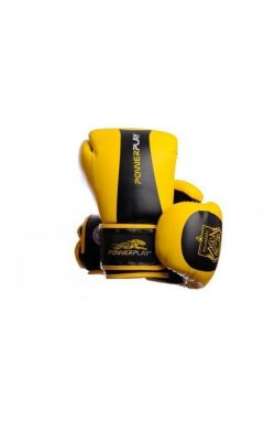 Боксерские перчатки PowerPlay 3003 Жовто-Чорні