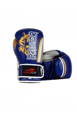 Боксерские перчатки PowerPlay 3005 Синие
