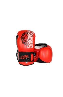 Боксерские перчатки PowerPlay 3006 Червоні 1