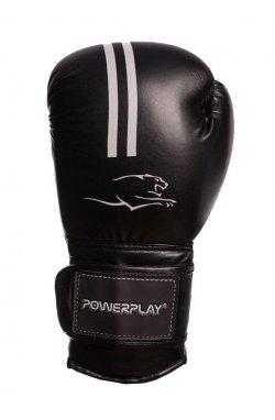 Боксерские перчатки PowerPlay 3016 Чорно-Белые