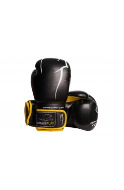 Боксерские перчатки PowerPlay 3018 Чорно-Жовті