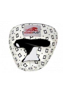 Боксерський шолом тренировочный PowerPlay 3044 Белый