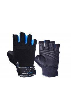 Перчатки для фитнеса PowerPlay 3092 Чорно-Сини