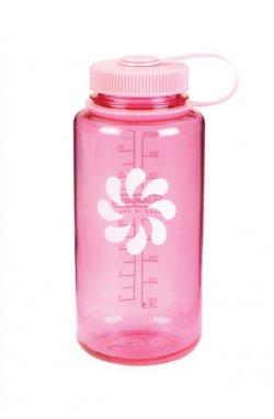 Пляшка для води Nalgene Wide ounth Розова 1 л.