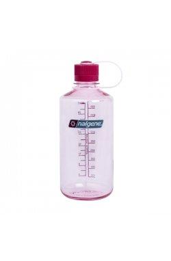 Пляшка для води Nalgene Narrow outh 1 л. Прозоро-Розова