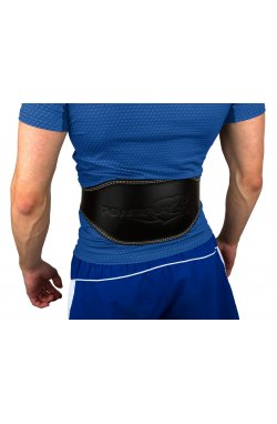 Пояс для тяжёлой атлетики PowerPlay 5086 Чорно-Коричневий