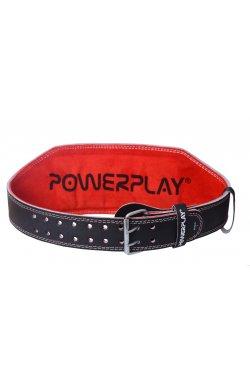 Пояс для тяжёлой атлетики PowerPlay 5053 Чорно-Красный