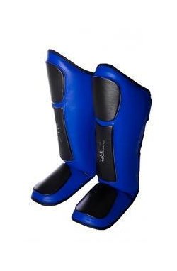 Защита голени и стопы PowerPlay 3032 Чорно-Синий