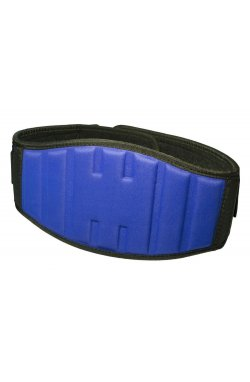 Пояс для тяжёлой атлетики PowerPlay 5425 Синий (Неопрен)